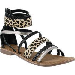 Women's Azura Tunisia Strappy Sandal Black Leather