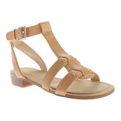 Women's Nine West Yippee Sandal Natural Leather