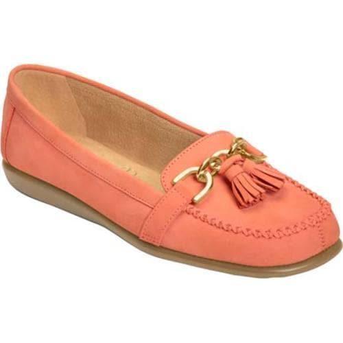 4d7cee3f8b5e2 Shop Women's Aerosoles Super Soft Slip-On Coral Nubuck - Free Shipping  Today - Overstock - 11703568