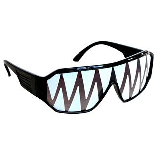 Macho Man Black Shark Tooth Sunglasses