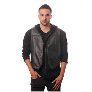 Costume Faux Leather Wing Vest