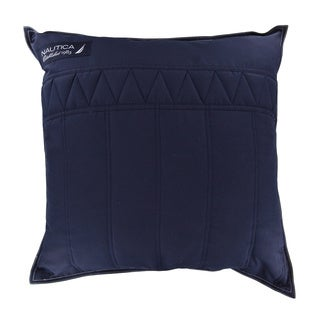 Nautica Mainsail 20-inch Midnight Decorative Pillow