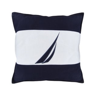 Nautica Mainsail Spinnaker Navy Decorative Pillow