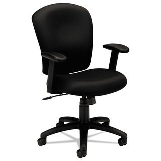 basyx by HON VL220 Series Black Mid-Back Task Chair