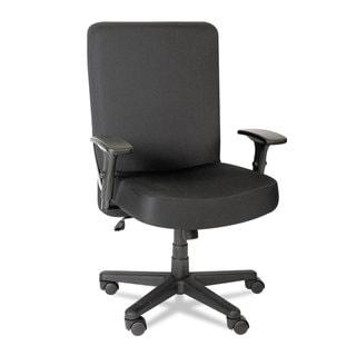 Alera Plus XL Series Black Big & Tall High-Back Task Chair