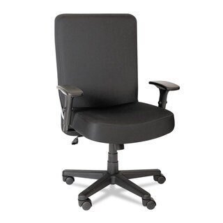 Alera Plus XL Series Black Big & Tall High-Back Task Chair