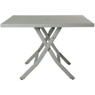Safavieh Outdoor Living Samana Grey Square Folding Dining Table