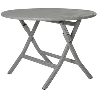 Safavieh Outdoor Living Ellis Grey Round Folding Dining Table|https://ak1.ostkcdn.com/images/products/10300189/P17413675.jpg?impolicy=medium