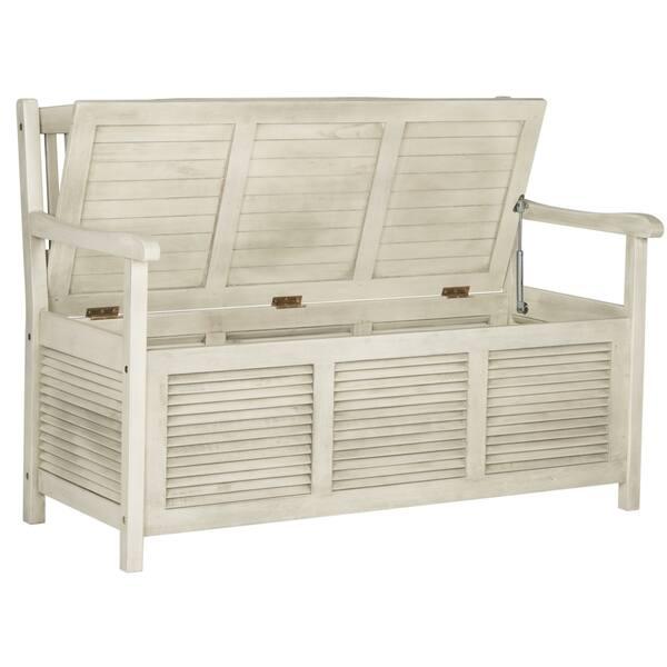 Swell Shop Safavieh Outdoor Living Brisbane Distressed White Dailytribune Chair Design For Home Dailytribuneorg