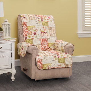 Patchwork Recliner or Wing Chair Protector