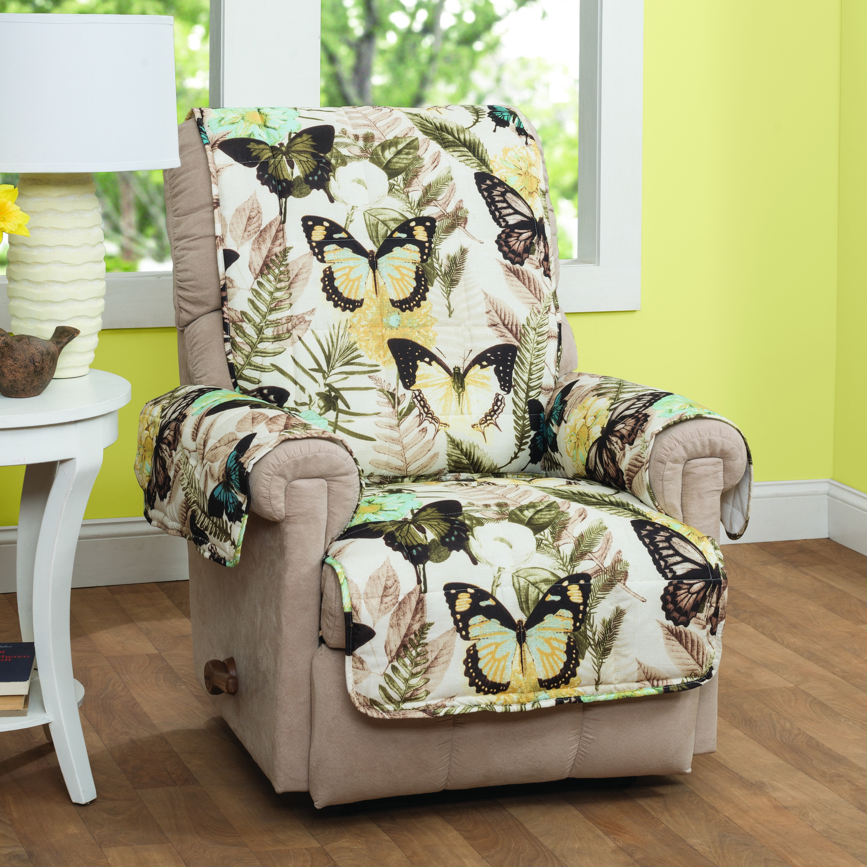 Innovative Textile Solutions Butterfly Recliner or Wing Chair Protector (Multi)