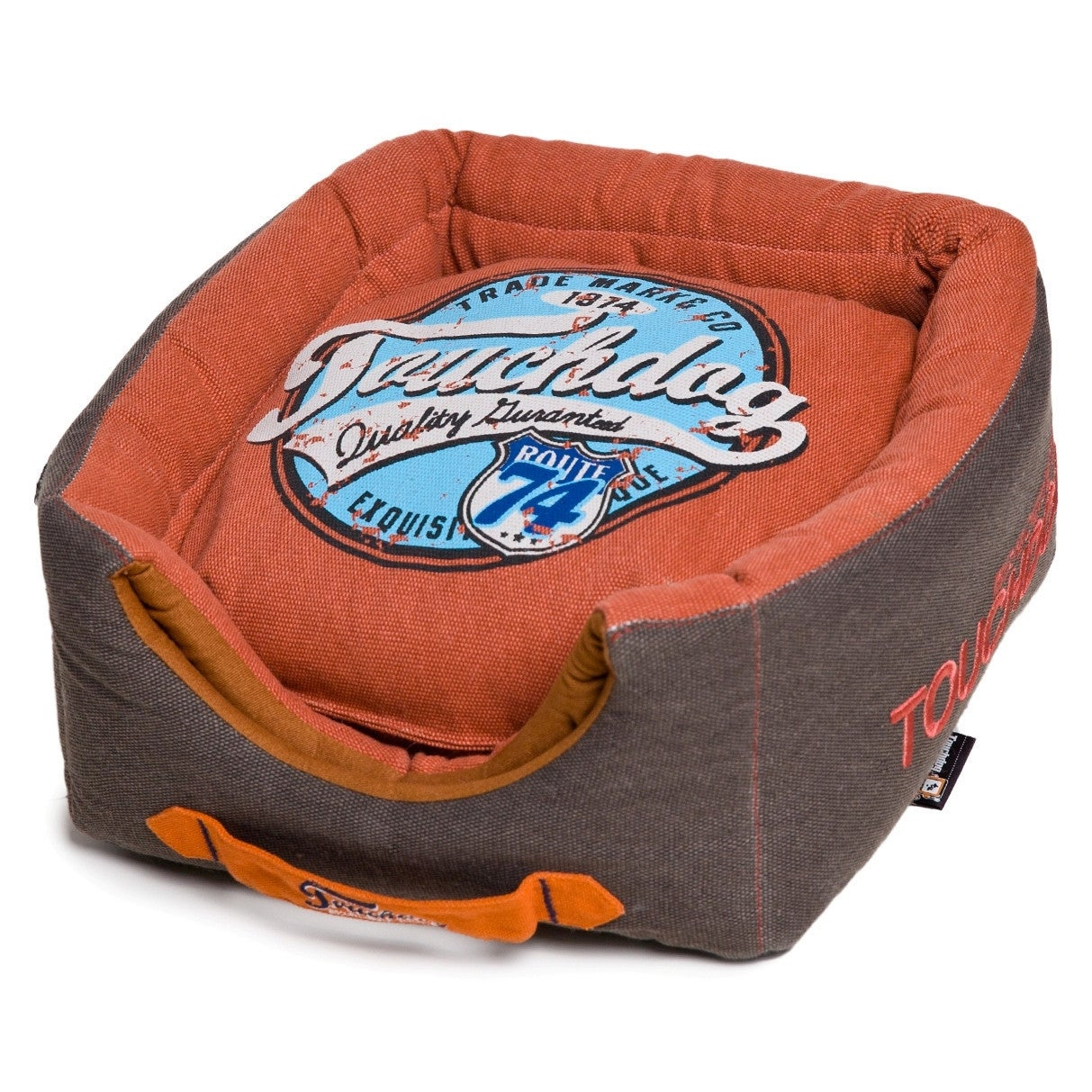 Petlife Touchdog Convertible and Reversible Vintage Print...