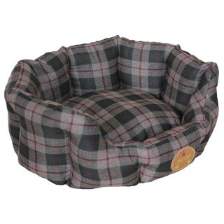 Wick-Away Nano-Silver and Anti-Bacterial Water Resistant Round Circular Dog Bed