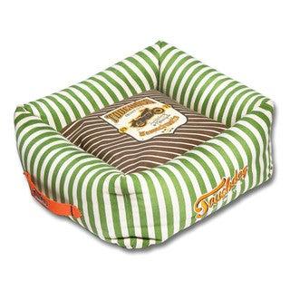 touchdog ultraplush easy wash squared designer dog bed
