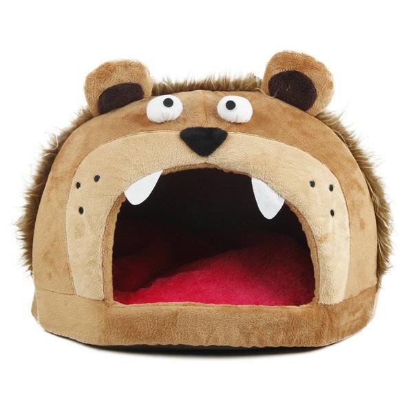 Roar Bear Snuggle Plush Polar Fleece Pet Bed. Opens flyout.