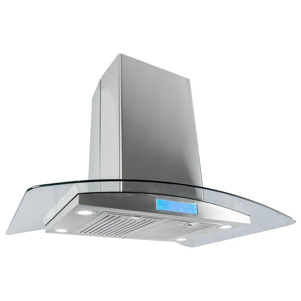 Island Hoods On Sale ~ Cosmo ics inch stainless steel island range hood