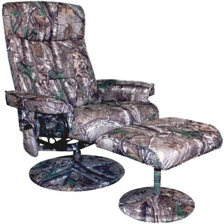 Realtree© Relaxzen 8 Motor Massage Recliner with Heat