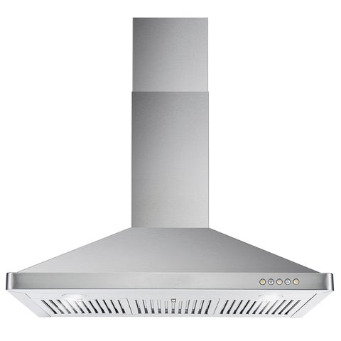 Cosmo 63190FT900 36-inch 760 CFM Ducted Wall Mount Stainless Steel Hood - STAINLESS STEEL