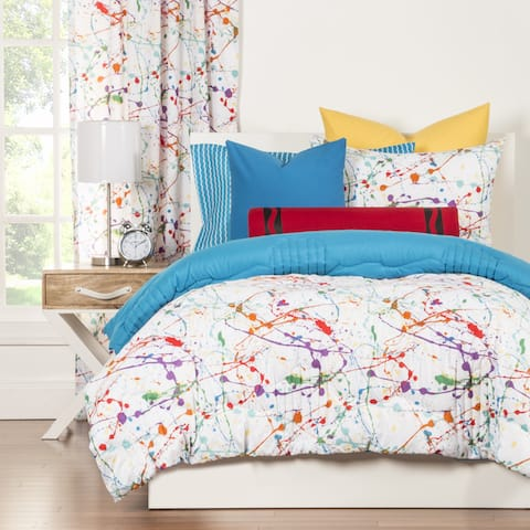 Crayola Splat Brushed Microfiber 3-piece Comforter Set