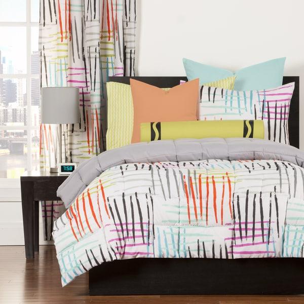 Crayola Stroke of Genius 3-piece Comforter Set