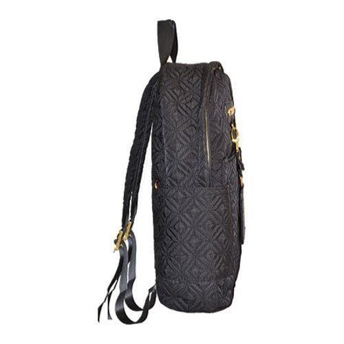 c6264de606b6 ... Thumbnail Adrienne Vittadini Black 15-inch Quilted Nylon Fashion  Backpack ...