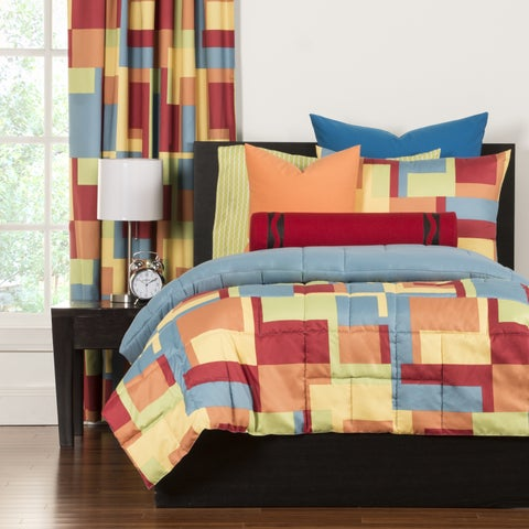 Crayola Paint Box 3-piece Comforter Set