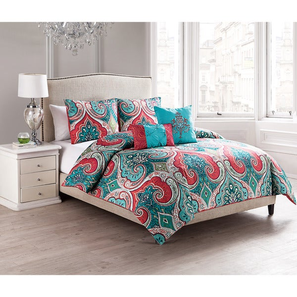 VCNY Casa Royale Reversible 5-piece Comforter Set