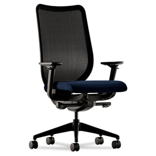HON Nucleus Series Black ilira-stretch M4 Back, Mariner Seat Work Chair