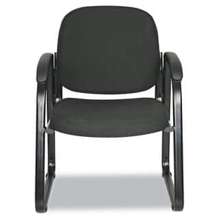 Alera Reception Lounge Series Black Fabric, Sled Base Guest Chair|https://ak1.ostkcdn.com/images/products/10302316/P17415452.jpg?impolicy=medium