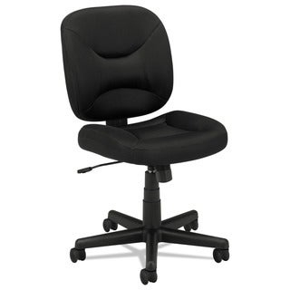 basyx by HON VL210 Series Black Mesh Low-Back Task Chair
