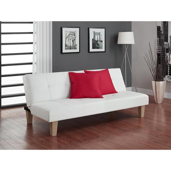 living room futon. Avenue Greene Able White Futon  Free Shipping Today Overstock