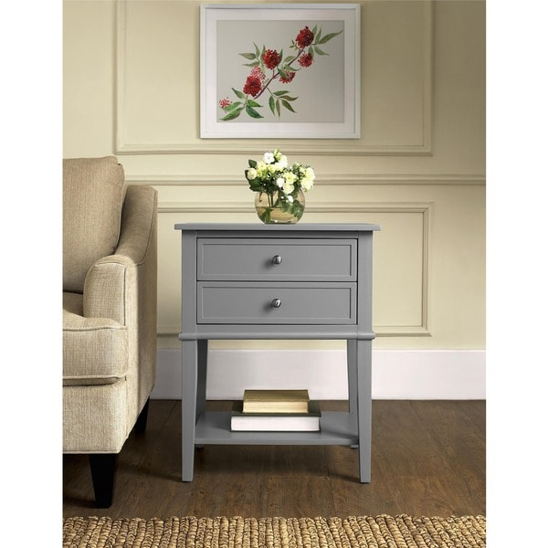 Avenue Greene Bantum Accent Table with 2 Drawers