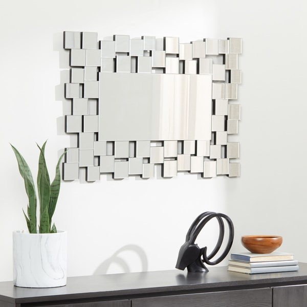 Abbyson Aiden Rectangle Wall Mirror. Opens flyout.