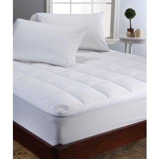 Brookstone Climasure Performance Mattress Pad - White