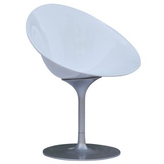 MaxMod Eco Flatbase Dining Chair in White