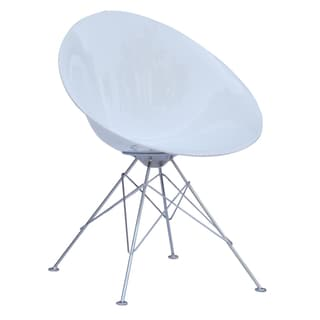 MaxMod Eco Wirebase Dining Chair in White