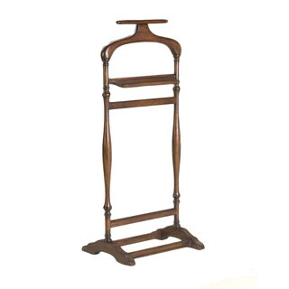 Butler Traditional Wooden Valet Stand - Brown