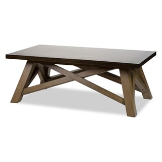 Breckenridge Rectangular Cocktail Table by Michael Amini
