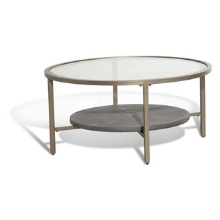 Heavenly Round Cocktail Table by Michael Amini