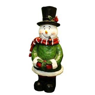Snowman Garden Statue