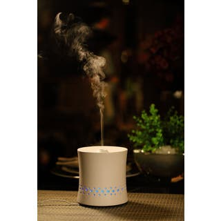 SPT Ceramic Ultrasonic White Aroma Diffuser/ Humidifier (Option: White)|https://ak1.ostkcdn.com/images/products/10302593/P17415707.jpg?impolicy=medium
