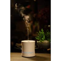 SPT Ceramic Ultrasonic White Aroma Diffuser/ Humidifier