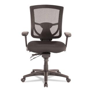 Alera EX Series Black Mesh Multifunction Mid-Back Chair