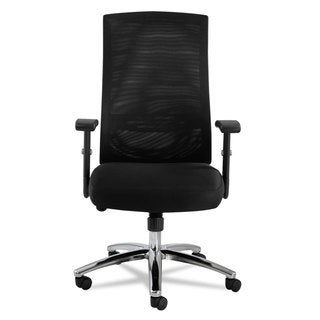 Alera EY Series Black Mesh Multifunction Chair