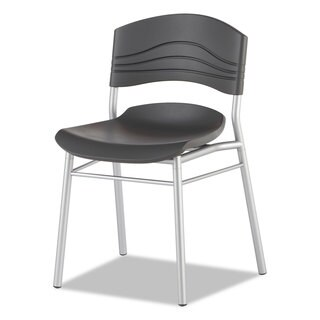 Iceberg CafeWorks Graphite/Silver Chair (Set of 2)