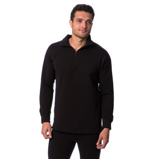 Kenyon Men's Polartec Power Stretch Wool Zip Top