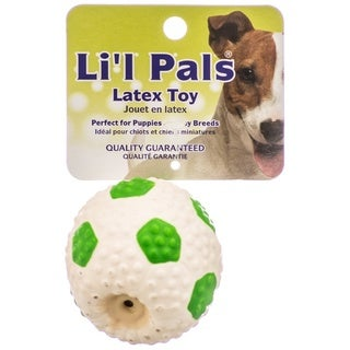 Coastal Pet Li'l Pals Latex Soccer Ball