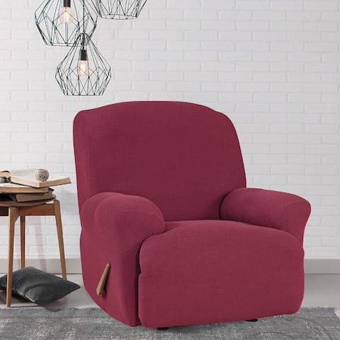 Sure Fit Simple Stretch Twill Recliner Slipcover