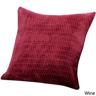 Sure Fit Stretch Royal Diamond 18-inch Decorative Pillow