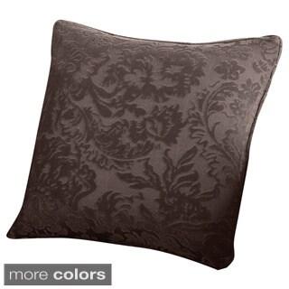 Sure Fit Stretch Jacquard Damask 18-inch Decorative Pillow